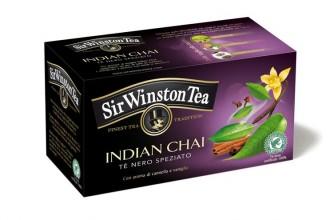Indian Chai Tè nero speziato con aroma di cannella e vaniglia