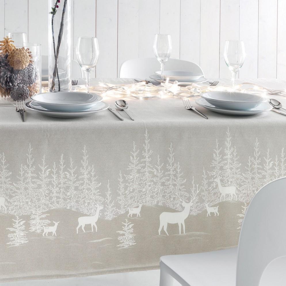 Tovaglia Nera E Oro 22 tovaglie natalizie per decorare la tavola