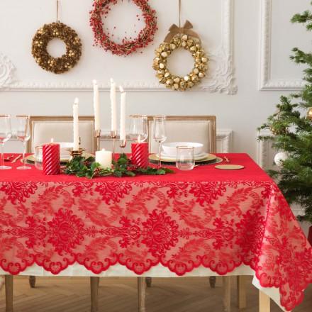 22 tovaglie natalizie per decorare la tavola for Tovaglie zara home