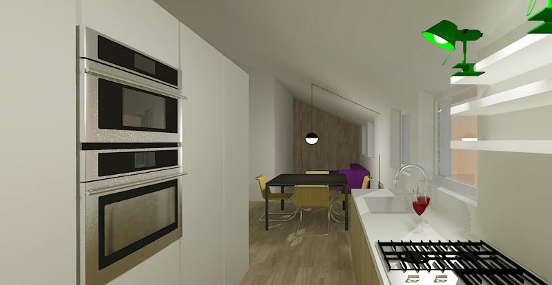Come ristrutturare una mansarda di soli 40 mq foto 1 - Ristrutturare la cucina ...