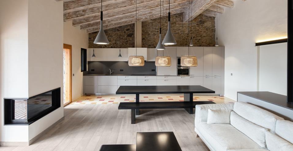 Emejing Soggiorno Rustico Moderno Contemporary - Design and Ideas ...