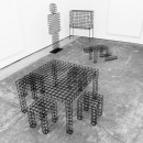 RO/LU, Surfaces On Which Your Setting and Sitting Will Be Uncertain, 2014. Courtesy Patrick Parrish Gallery