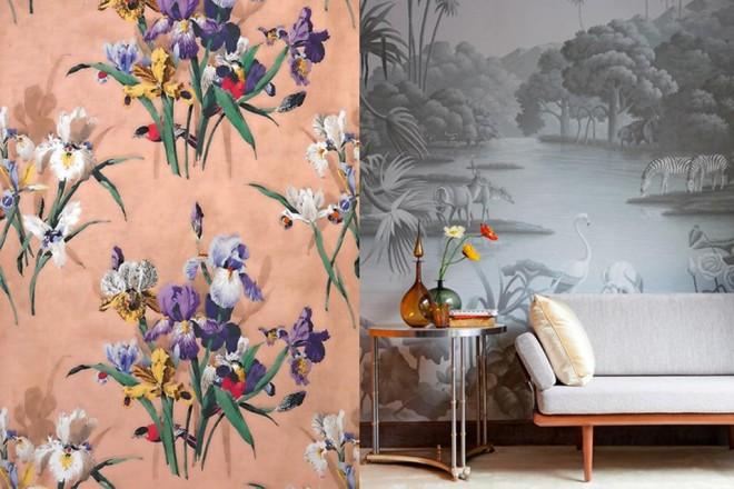 Decorazione in primo piano, sia quella tessile sia quella realizzata con i nuovi materiali. Per le pareti, tessuto non tessuto e carte dipinte a mano.ETRO ARREDAMENTO
