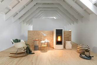 Combustibile che consente di risparmiare sul riscaldamento, il pellet ha ottimi rendimenti termici.MCZ