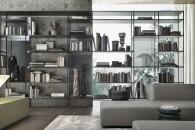 Singole o componibili, piccole o grandi, le librerie autoportanti stanno bene anche a centro stanza e servono da divisori.RIMADESIO