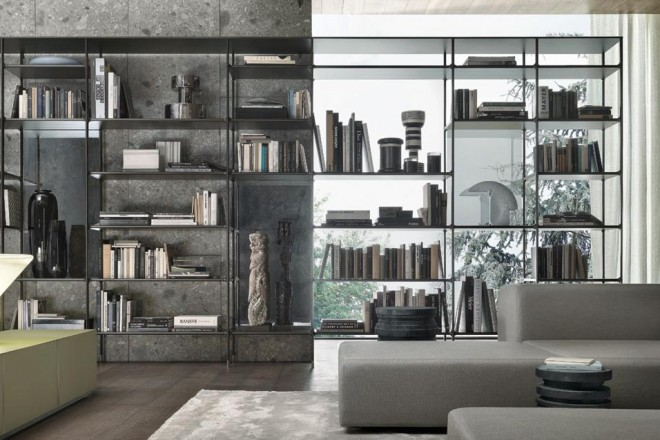 Librerie free standing - LivingCorriere