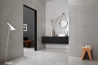 Pavimenti e rivestimenti in ceramica nuova maniera. In colori di tendenza e formati versatili per dare un tocco in più alla stanza benessere.TAGINA
