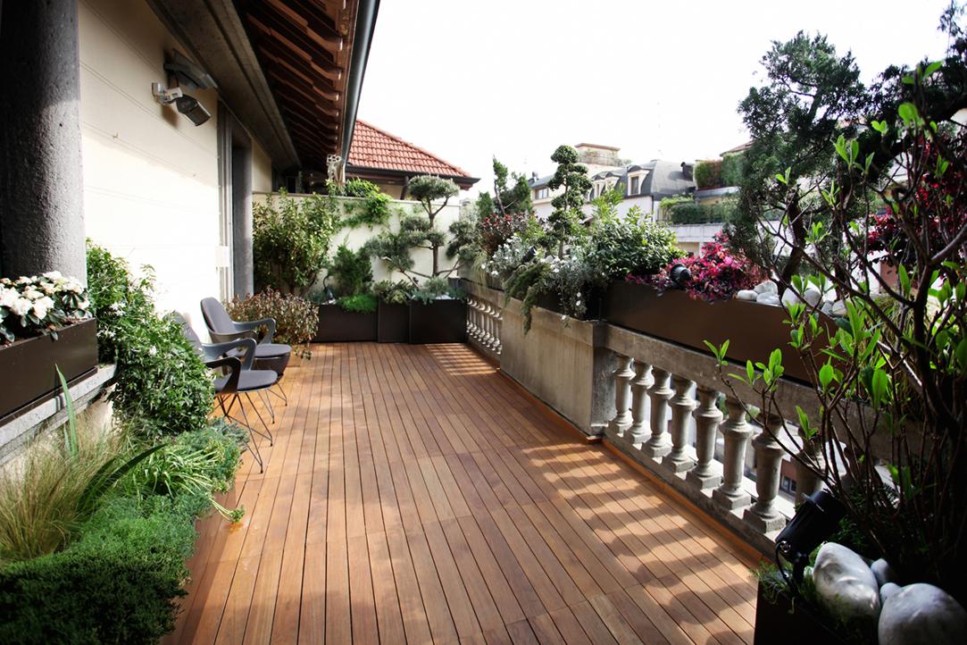 Ridisegnare il terrazzo con il verde foto 1 livingcorriere - Piante per il terrazzo ...