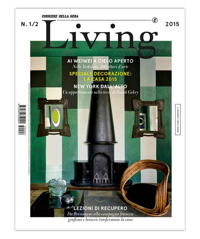 LA COVER DEL NUOVO LIVING 1/2 2015