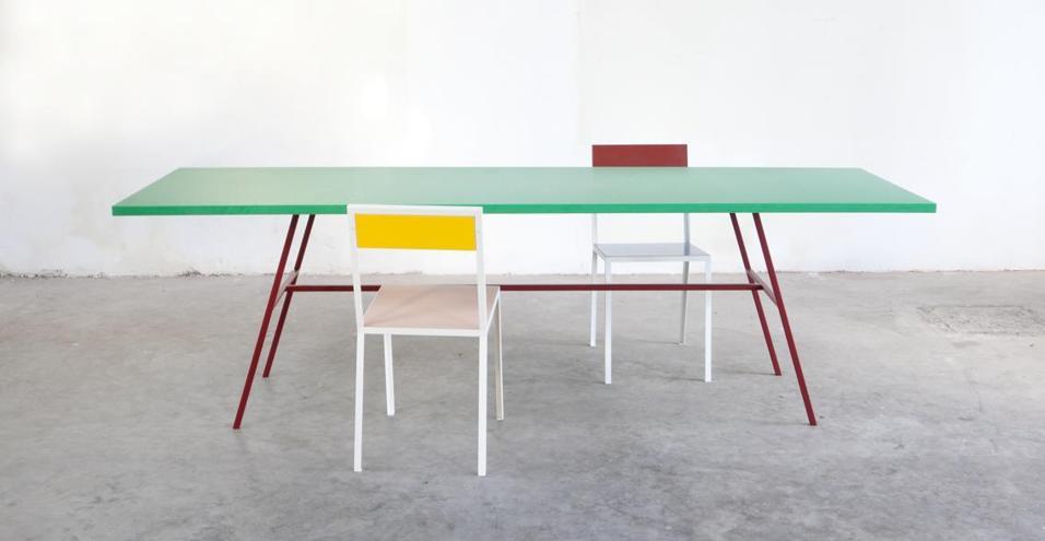 Nello showroom Viaduct i nuovi poetici pezzi Muller Van Severen in equilibrio tra arte e design. In mostra fino al 28 Marzo