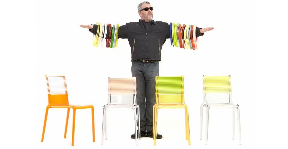 25 progetti tra bestseller e novità. Da Philipe Starck a Konstantin Gric fino ai Bouroullec: le sedute secondo i divi del design MISA JOY DI TOG