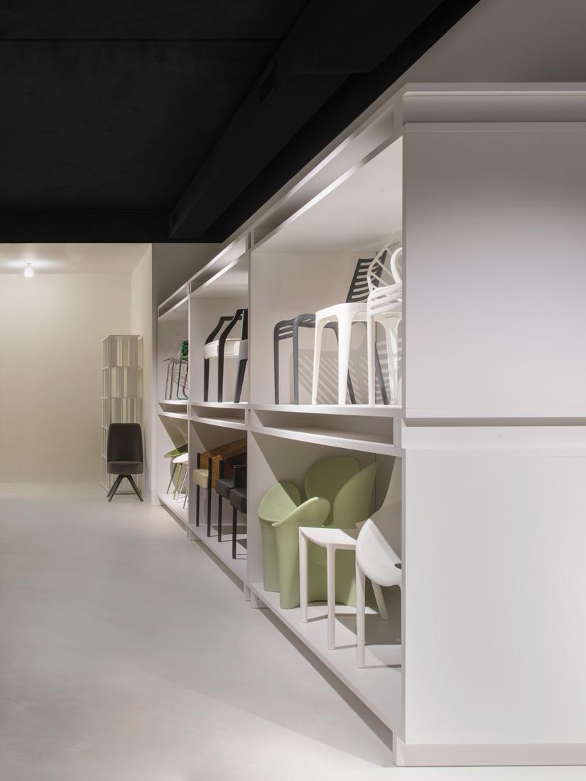 Lo showroom driade a milano for On off illuminazione milano