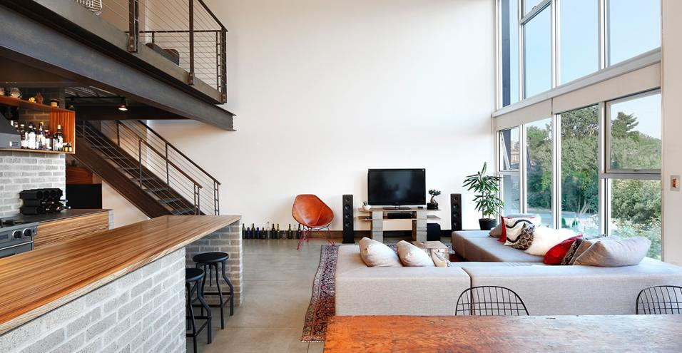Loft in stile industriale a seattle - Casa stile industriale ...