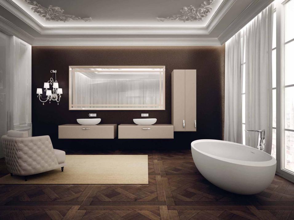 I mobili per arredare il bagno livingcorriere - Vasche da bagno da sogno ...