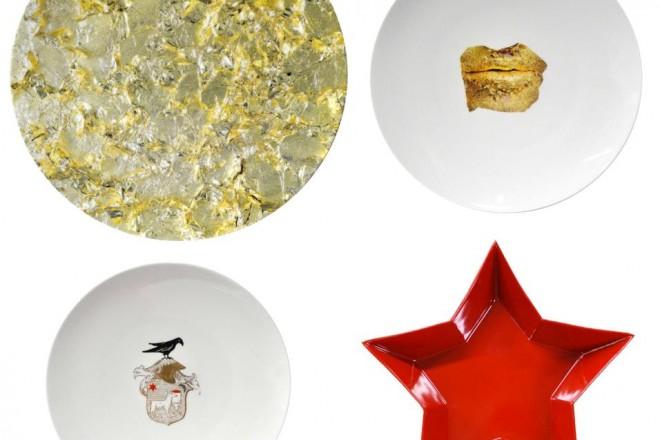 Da Marina Abramović a Damien Hirst. Gli artisti si cimentano con il cristallo e la ceramica, tra piatti, tazzine e pannelli trasparenti. Il risultato sono tre nuove collezioni in edizione limitataMarina Abramović per Bernardaud