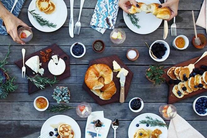 Pinterest tra cibo e design - Food network ricette a tavola con guy ...