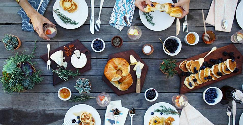 Pinterest tra cibo e design