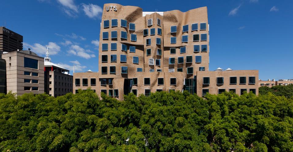 Dr Chau Chak Wing Building: il nuovo edificio realizzato da Frank Gehry all'interno del campus della University of Technology di Sidney