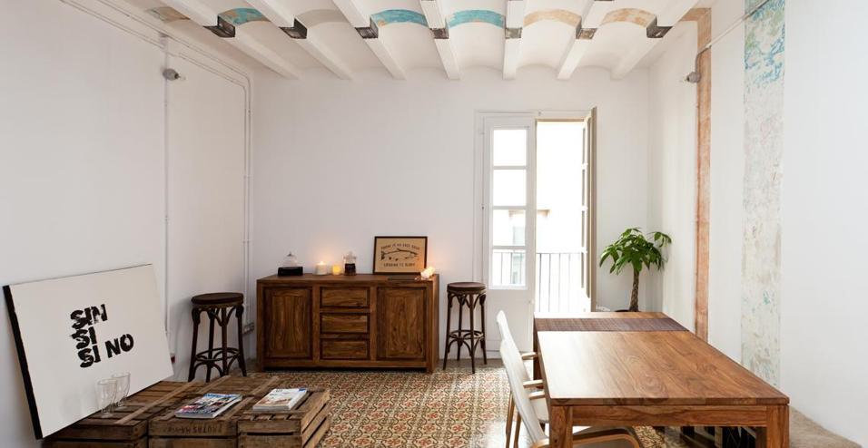 Decorare le pareti recuperando 9 flats low cost for Appartamenti low cost barcellona