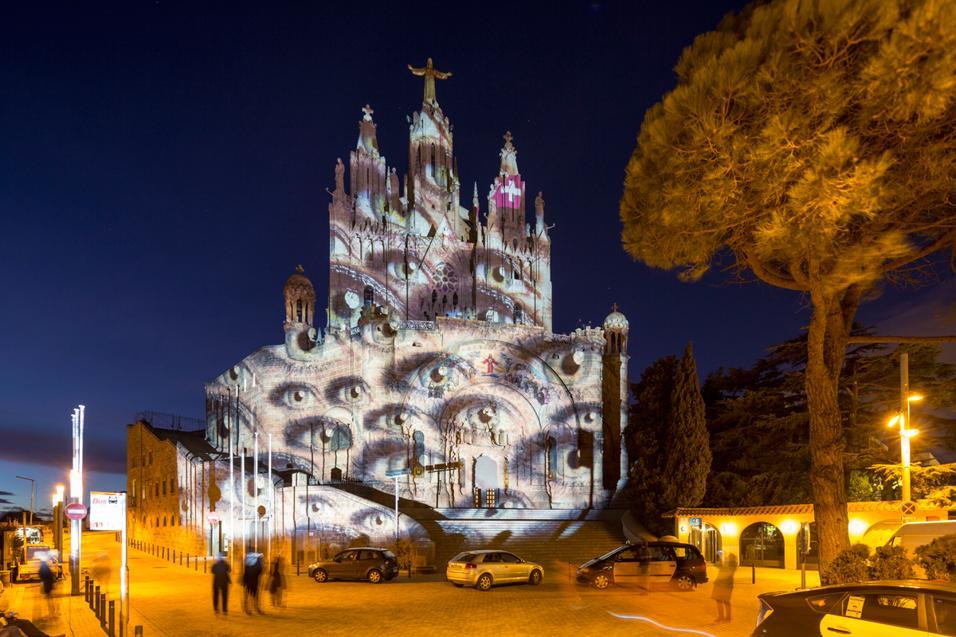 Martedì 17 marzo la compagnia aerea Svizzera porta in Italia il progetto The Art of Attentiveness con un'installazione luminosa sulla facciata del MUST di Milano