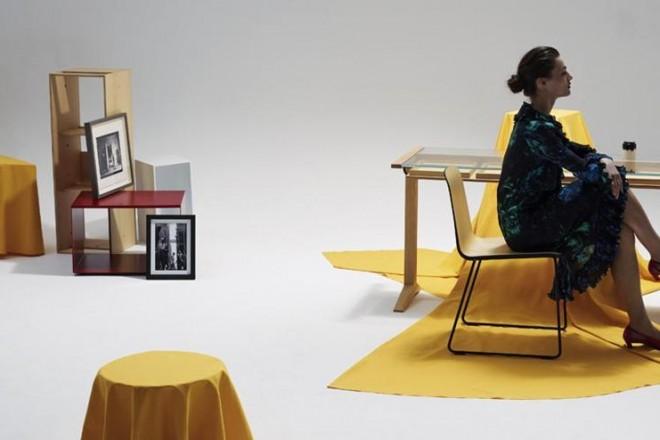 Foto Grégoire Alexandre - Set designer Rémi Brière - Fashion stylist Marion Jolivet