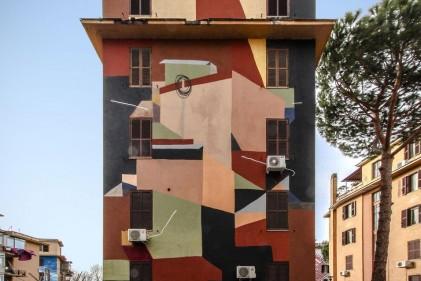 11 palazzi e 974 bombolette spray. Tutte le opere realizzate nella zona Tor Marancia di Roma per il progetto Big City Life