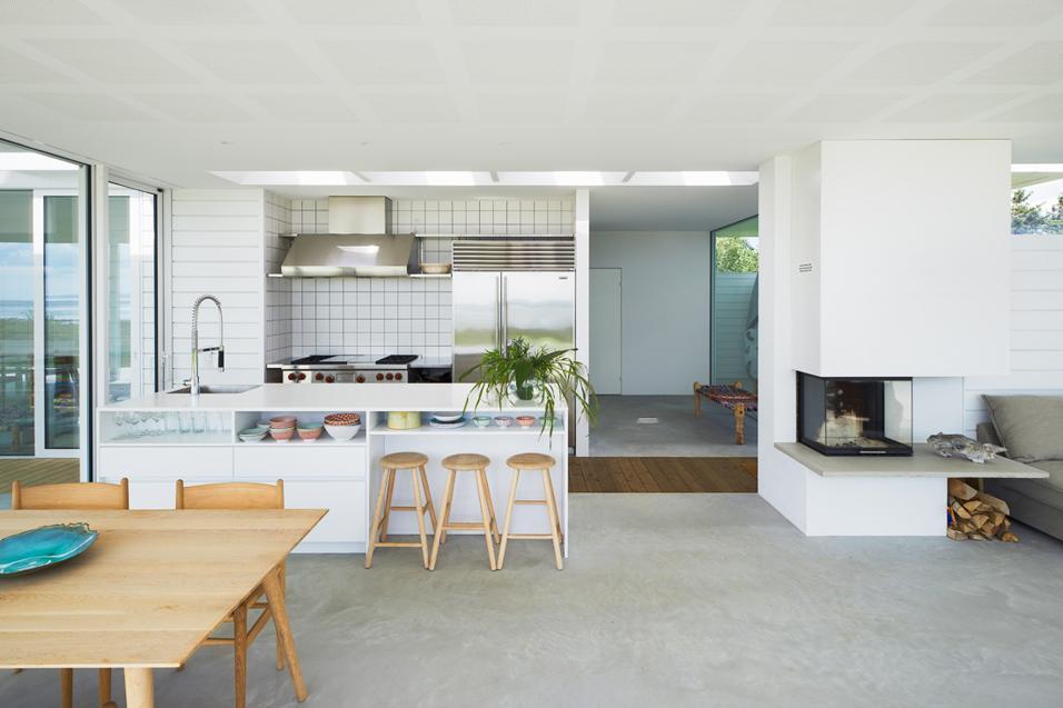 zona living con cucina