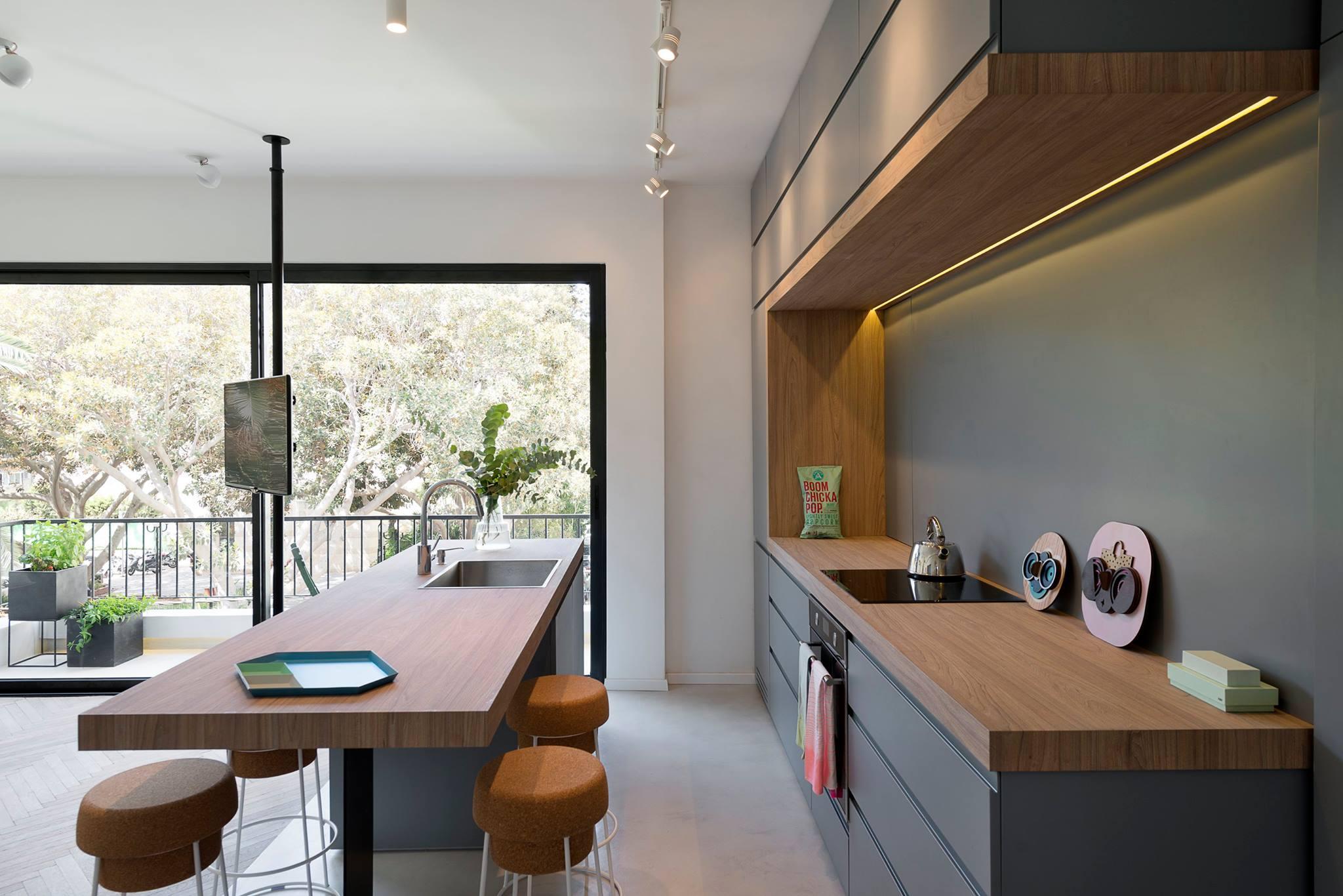 35 ispirazioni per una arredare la cucina a vista living - Soggiorno living con cucina ...