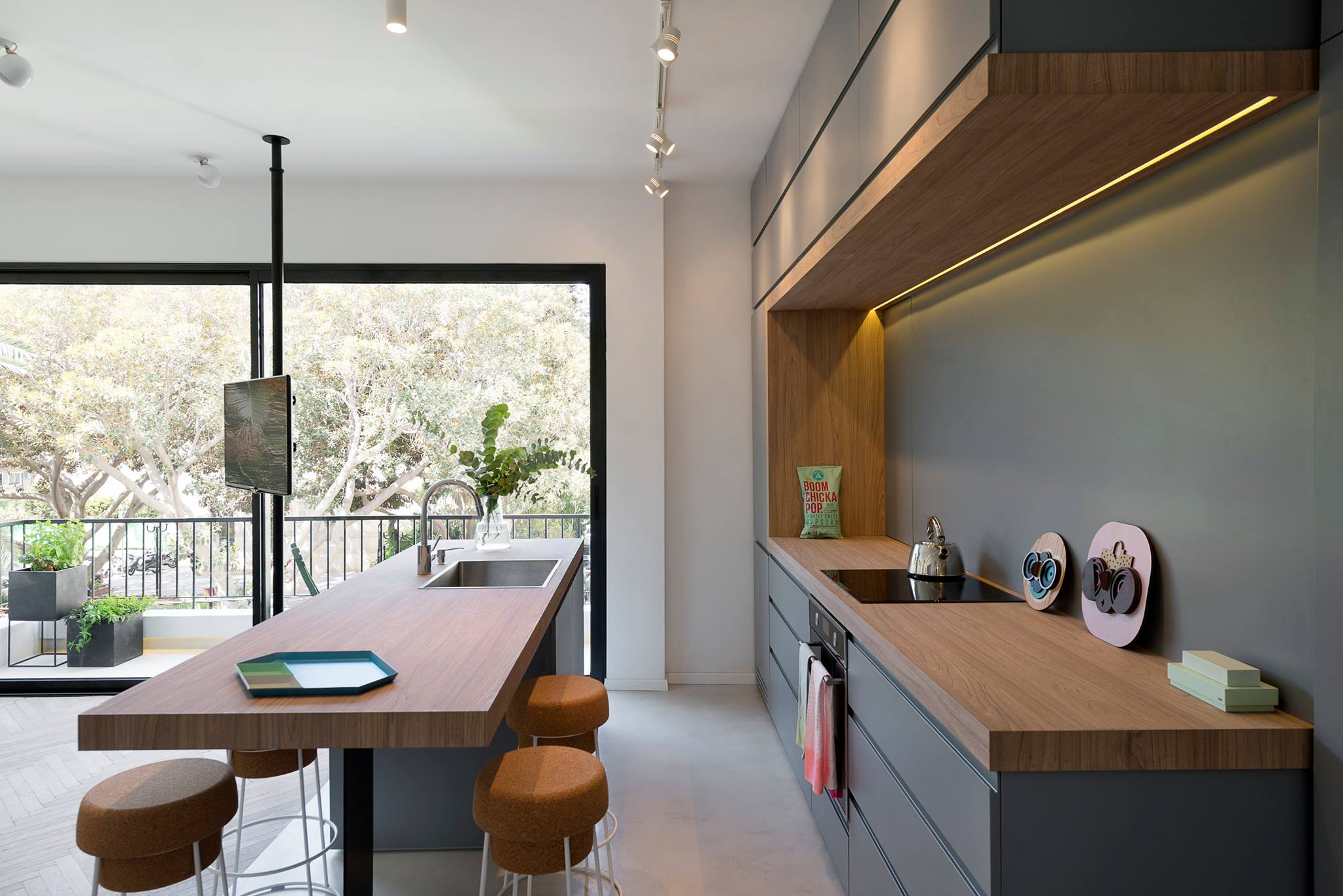 35 ispirazioni per una arredare la cucina a vista living for Arredamento living