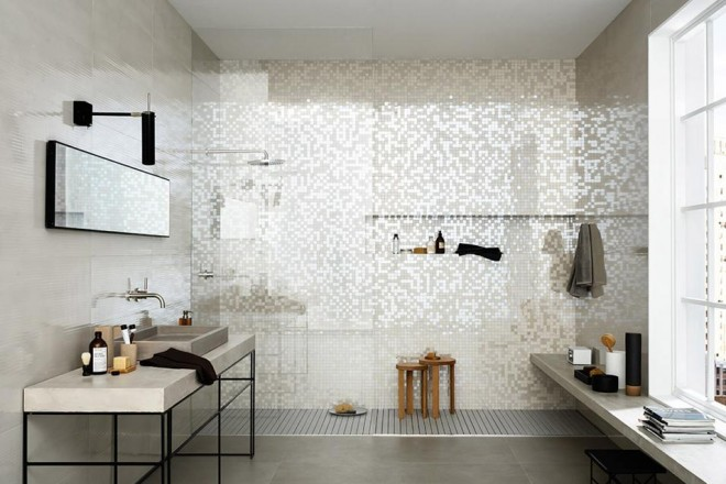 Mosaico di benessere livingcorriere for Mattonelle per salone