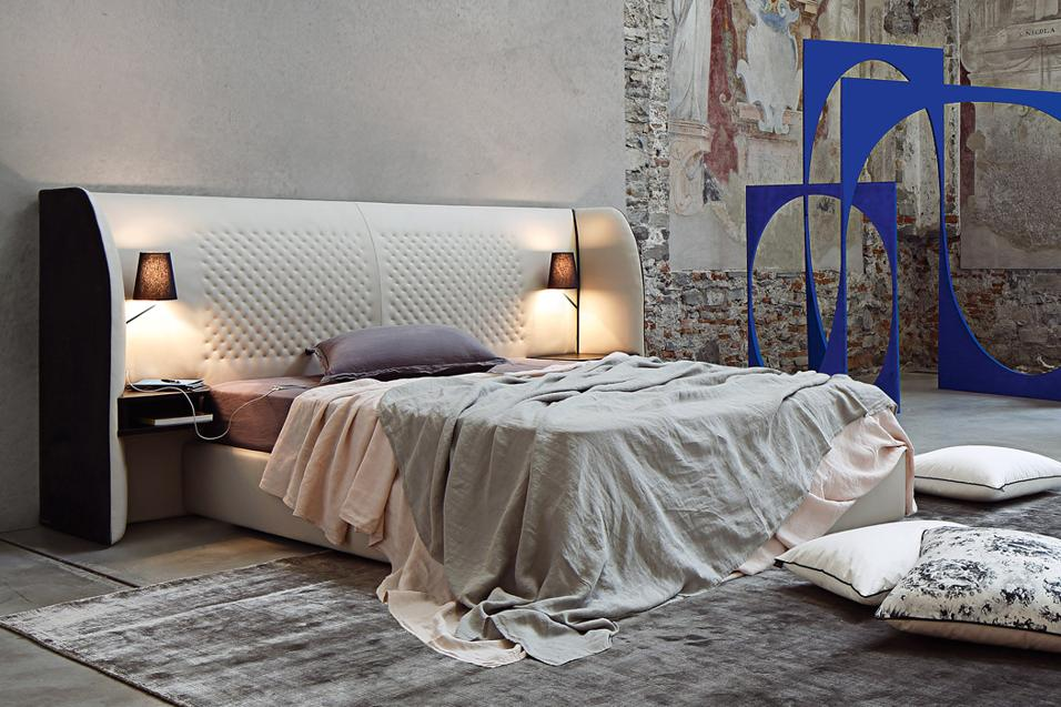 I nuovi letti tenera la notte livingcorriere for Roche bobois chambre