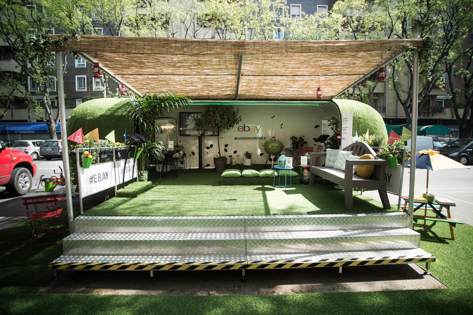 Ebay e il suo 39 giardino mobile 39 for Mobile giardino