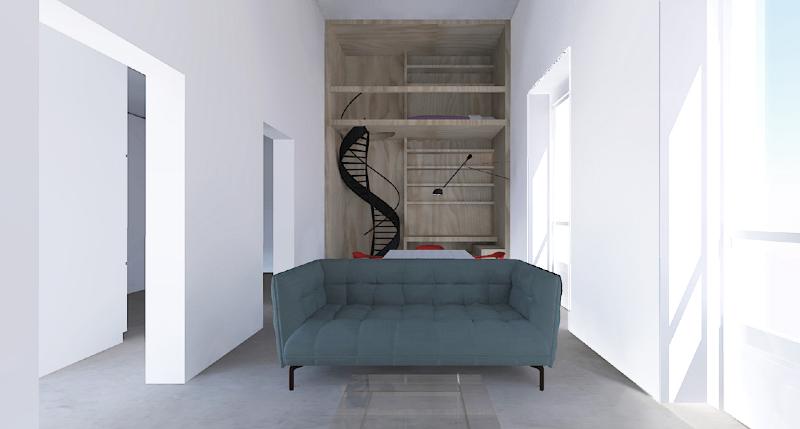 Progettazione e arredamento d interni appartamento cp alberto