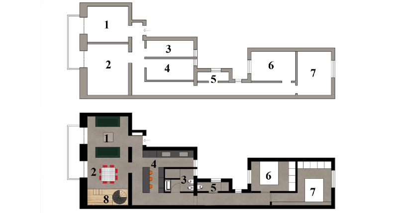 Progettare una parete attrezzata foto 1 livingcorriere for Progettare parete attrezzata