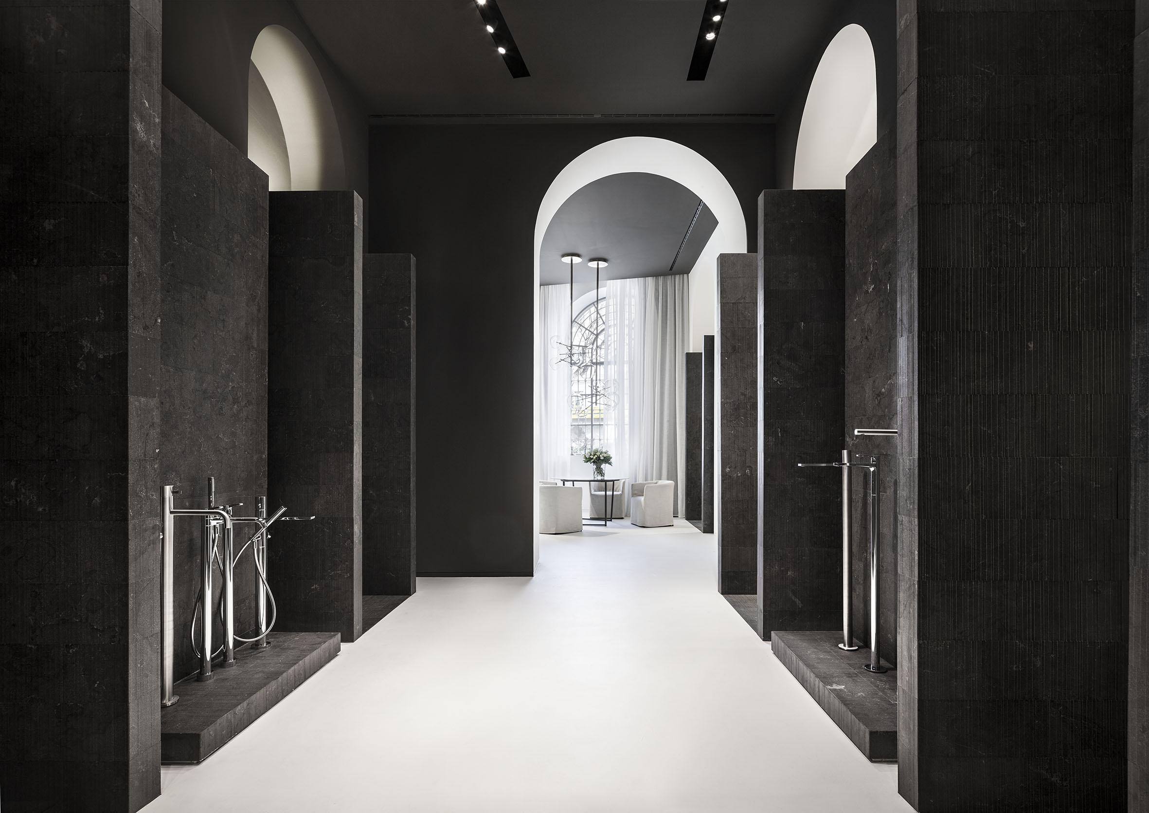Il nuovo showroom di fantini for Bagno fantini