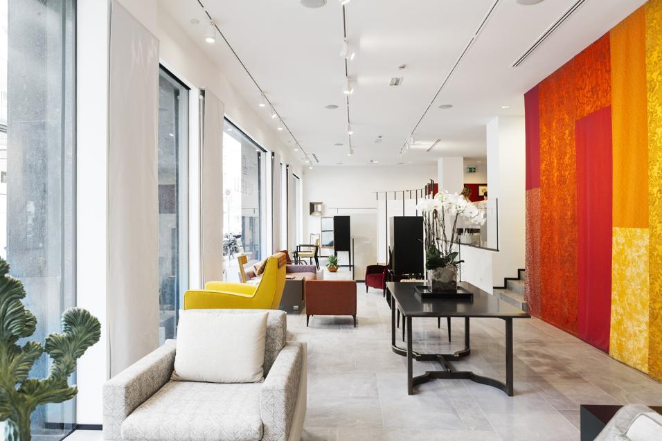 Il nuovo showroom di Milano
