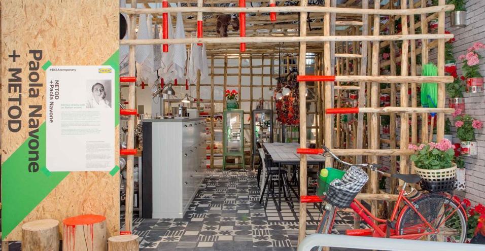IKEAtemporary il temporary shop di IKEA in zona Navigli a Milano
