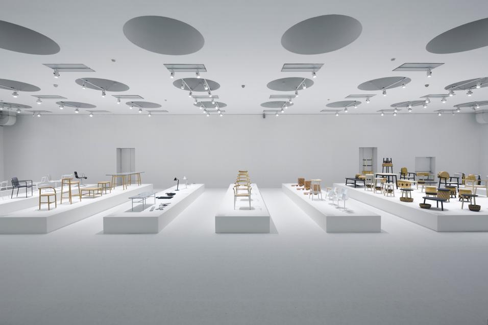 In mostra sui due piani del Museo delle Permanente i progetti dello studio giapponese, guidato da Oki Sato, realizzati per le più importanti aziende di design