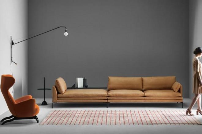 Un must: il divano di pelle - LivingCorriere