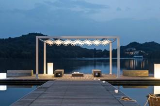10 soluzioni diverse per attrezzare lo spazio aperto, dalla terrazza, al giardino alla piscinaGibus