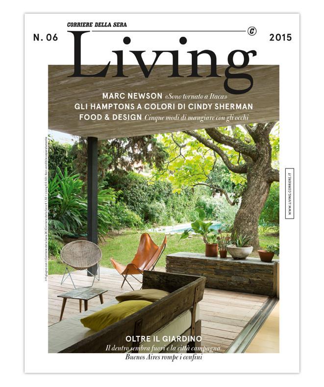 LA COVER DEL NUOVO LIVING N. 06 2015