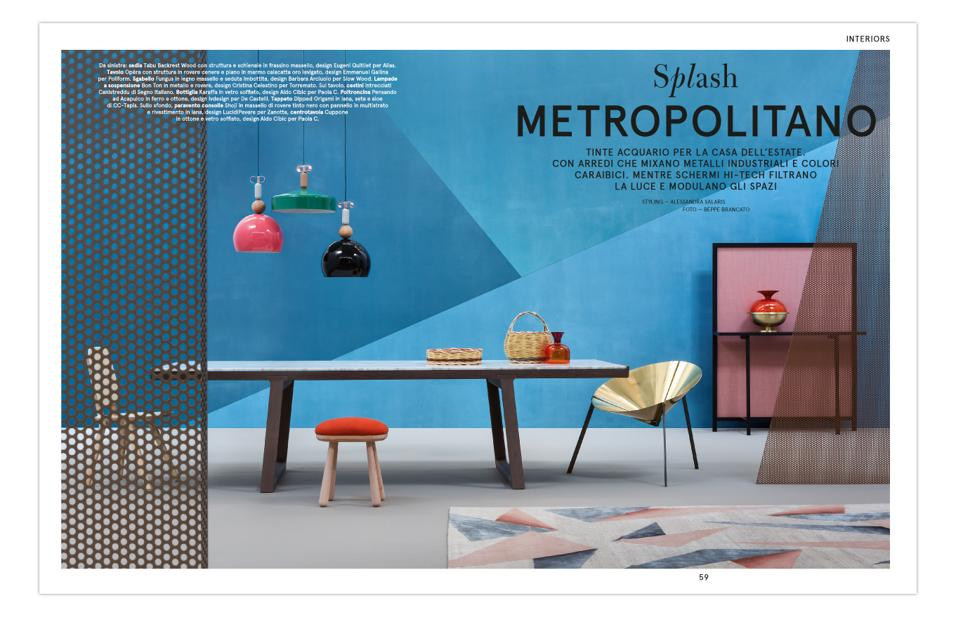 INTERIORS: SPLASH METROPOLITANO
