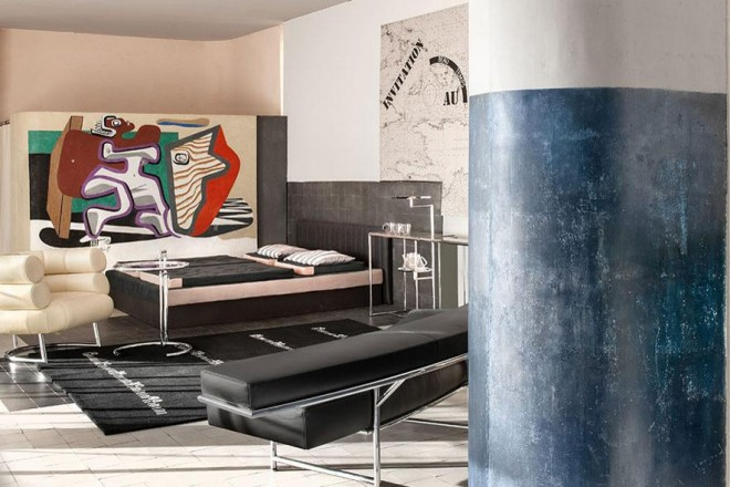 la villa sulla costa azzurra di eileen gray. Black Bedroom Furniture Sets. Home Design Ideas