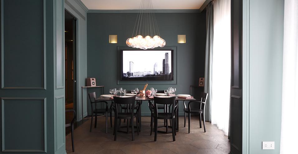 Appartamento di lusso nel centro di milano for Arredamento interni lusso