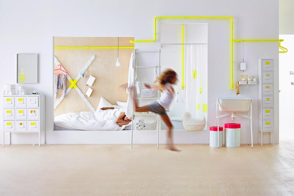 Armadi Per Cameretta Ikea.Camerette Per Bambini Nel Segno Dell Estate