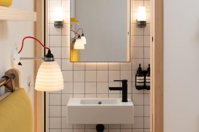 20 idee per arredare un bagno piccolo livingcorriere for Idee per arredare un ufficio