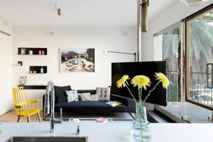 Arredare loft e open space idee di architettura d 39 interni for Arredare appartamento 50 mq