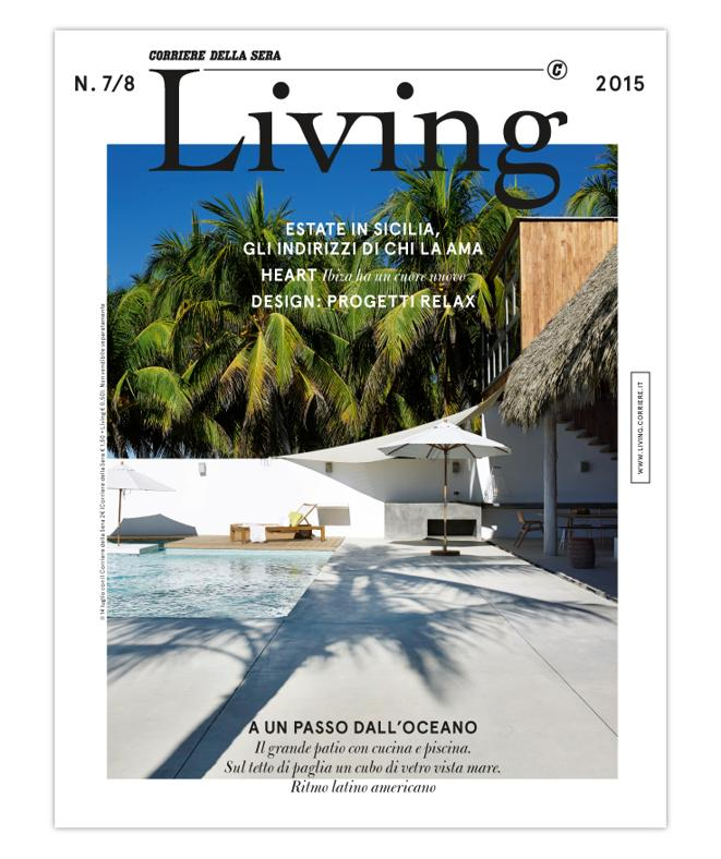 LA COVER DEL NUOVO LIVING N. 7/8 2015