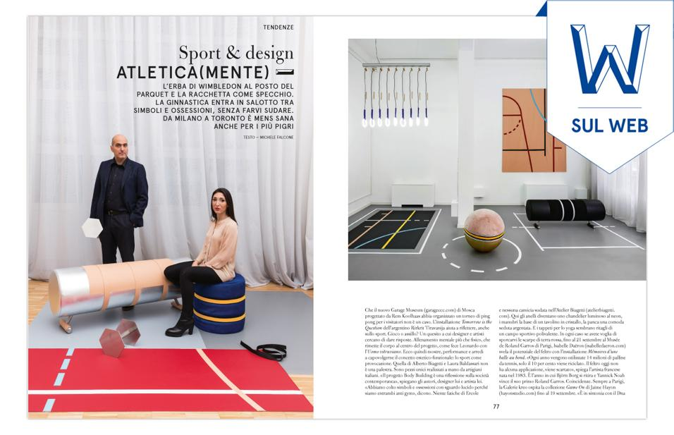 TENDENZE: SPORT & DESIGN