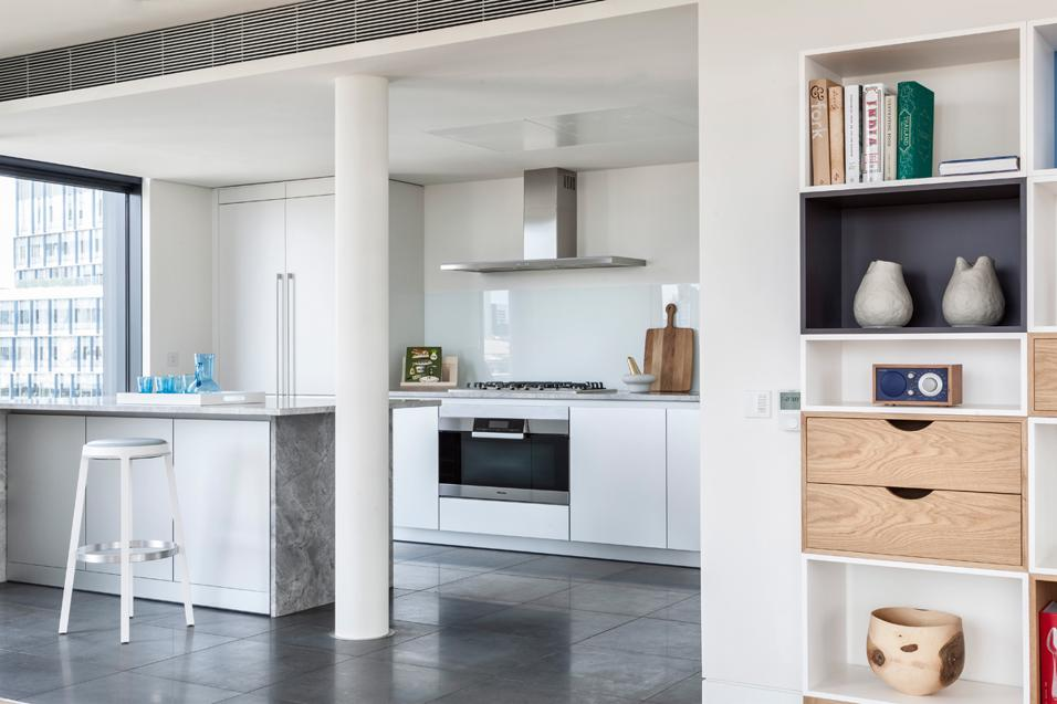 LONDON PENTHOUSE: LA CUCINA